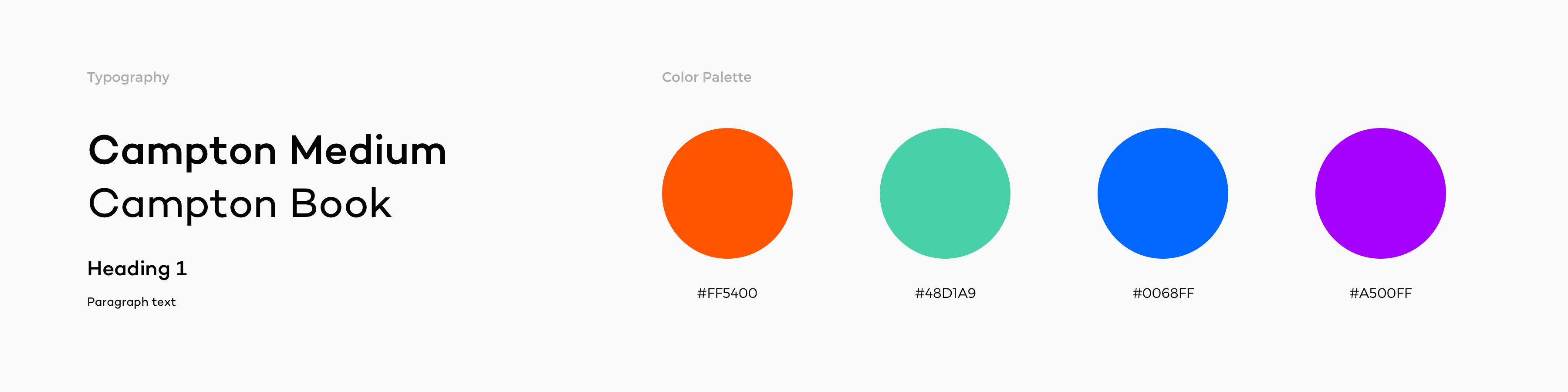 coroflot-redesign-palette-typography